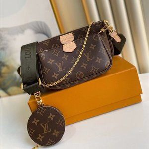 Luxury Woman's Monogram Multi Pochette Accessories Wallets 💞LB2-1